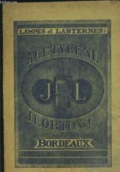 Manufactures Speciale De Lampes Et Lanternes A Acetylene Et D Articles Zinguerie- Hydrotherapie