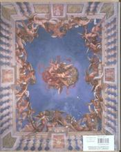 Fresques italiennes du baroque aux lumières ; 1600-1797 - 4ème de couverture - Format classique