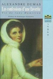 Les confessions d'une favorite ; vie de Lady Hamilton