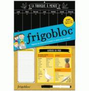 Frigobloc ; la fabrique à menus - Couverture - Format classique