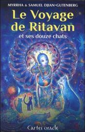 Le voyage de Ritavan et ses douze chats ; cartes oracles - Couverture - Format classique