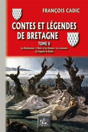 Contes et légendes de Bretagne t.2 ; les bienheureux, l'enfer et les démons, les revenants, les suppôts du diable - Couverture - Format classique