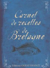 Carnet de recettes de Bretagne