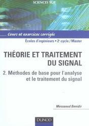 Theorie Et Traitement Du Signal - Tome 2