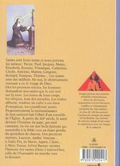 Les Saints - 4ème de couverture - Format classique