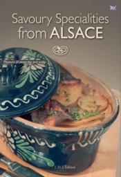 Savoury Specialities From Alsace - Couverture - Format classique
