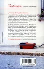 Vieillissimo - 4ème de couverture - Format classique