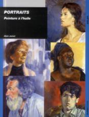 Portraits ; peinture à l'huile - Couverture - Format classique