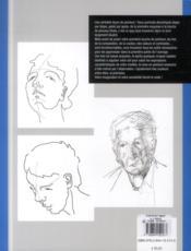 Portraits ; peinture à l'huile - 4ème de couverture - Format classique