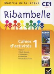 Méthode de lecture ; CE1 ; série jaune ; cahier d'activités et livret d'entraînement t.1