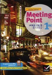 Anglais ; 1ère toutes séries ; manuel de l'élève (édition 2011) - Couverture - Format classique
