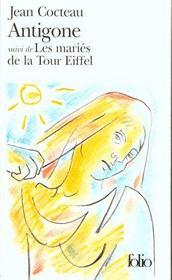 livre antigone les mari 233 s de la tour eiffel jean cocteau