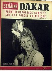 Semaine (La) N°115 du 18/10/1942 - Couverture - Format classique