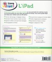 Livre visuel ; l'iPad (2e édition) - 4ème de couverture - Format classique