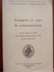 Transports Et Voies De Communication.