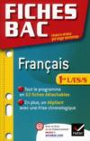 Livres - Fiches Bac T.15 ; Français ; 1ère L/Es/S