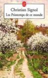 Livres - Les printemps de ce monde t.2