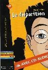Livres - La disparition + cd audio (a2)