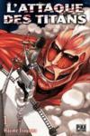 Livres - L'attaque des titans t.1