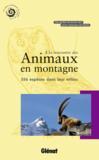 Livres - À la rencontre des animaux en montagne