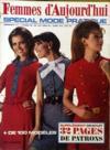 Presse - Femmes D'Aujourd'Hui N°1219 du 11/09/1968