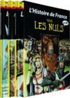 Livres - Histoire de France en BD pour les nuls t.1 à t.3
