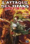 Livres - L'attaque des titans - before the fall T.3