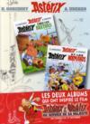 Livres - Astérix t.8 ; Astérix chez les Bretons ; Astérix t.9 ; Astérix chez les Normands