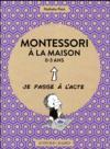 Livres - Montessori à la maison ; 0-3 ans