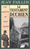 Livres - MARY LESTER T.18 ; le testament duchien