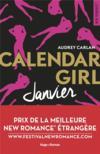 Livres - Calendar girl ; janvier
