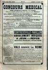 Presse - Concours Medical (Le) N°11 du 14/03/1903