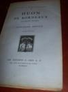 Livres - Huon de Bordeaux, mélodrame féérique.