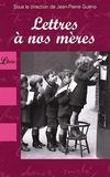 Livres - Lettres A Nos Meres
