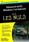 Livres - Découvrir le PC, Windows 7 et internet pour les nuls