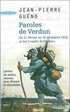 Livres - Paroles de Verdun