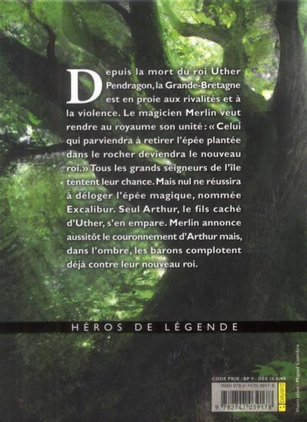 Livre - Le roi Arthur - Claude Merle