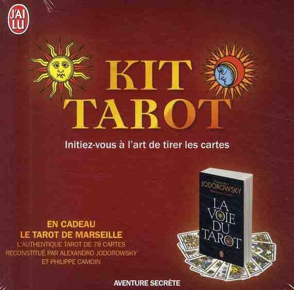 livre kit tarot initiez vous l 39 art de tirer les cartes alexandro jodorowsky. Black Bedroom Furniture Sets. Home Design Ideas
