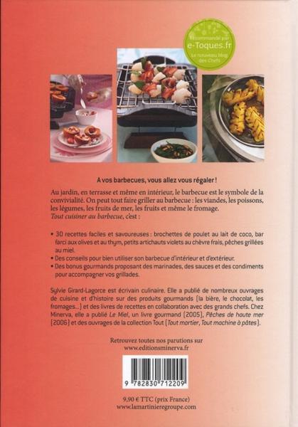 Livre tout cuisiner au barbecue 30 recettes sal es et sucr es faire griller sylvie - Que faire au barbecue original ...