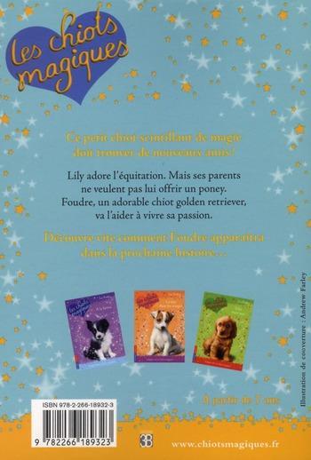 Livre - Les chiots magiques t.1 ; au poney-club - BENTLEY SUE