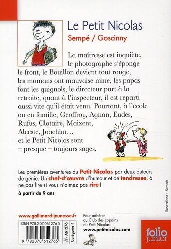 Le Resume Du Petit Nicolas Le Petit Nicolas Wikipedia