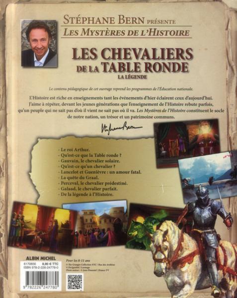 livre les chevaliers de la table ronde st 233 phane bern