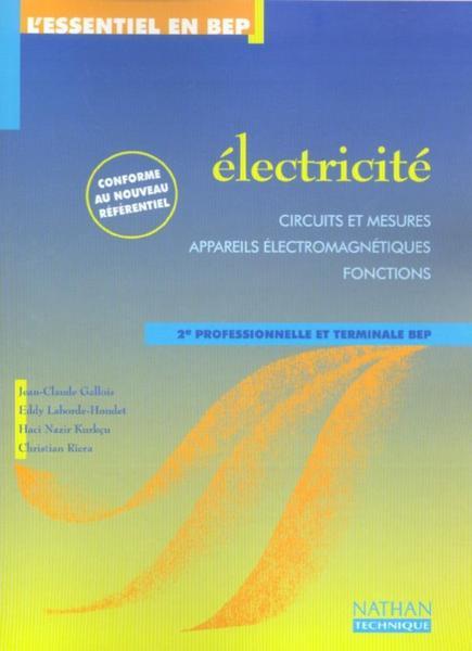 Livre lectricite 2nde professionnelle et terminale bep pochette de l - Cctp electricite logement collectif ...