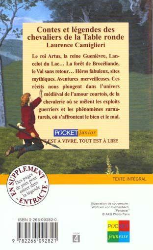 livre contes et legendes des chevaliers de la table ronde laurence camiglieri