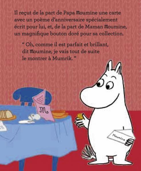 Livre Moumine Joyeux Anniversaire Catherine Renaud Buscall Texte Fran Ais De Catherine Renaud