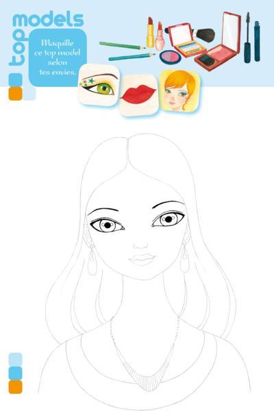 Livre carnet dessin les top models daneth khong - Top model livre de dessin ...