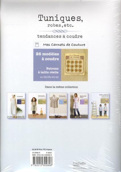 Livre tuniques robes etc tendances coudre yoshiko for Coudre a passe simple