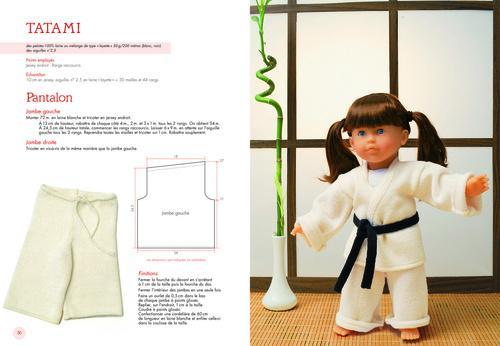 Livre 10 tenues originales pour poup es corolle 30 v tements et accessoires au tricot Tenue swag explication idees originales
