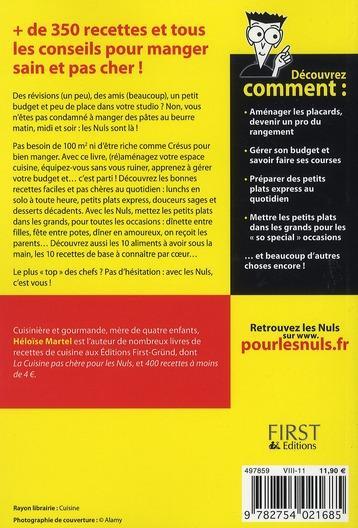 Livre la cuisine de l 39 tudiant pour les nuls h lo se for La cuisine de l etudiant