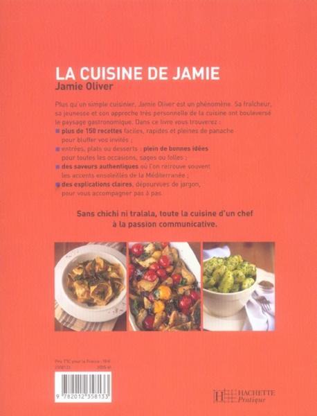 Livre la cuisine de jamie jamie oliver - Livre cuisine jamie oliver ...